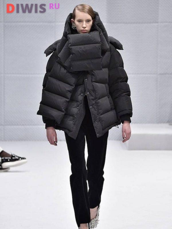 Модные женские пуховики зима 2019-2020