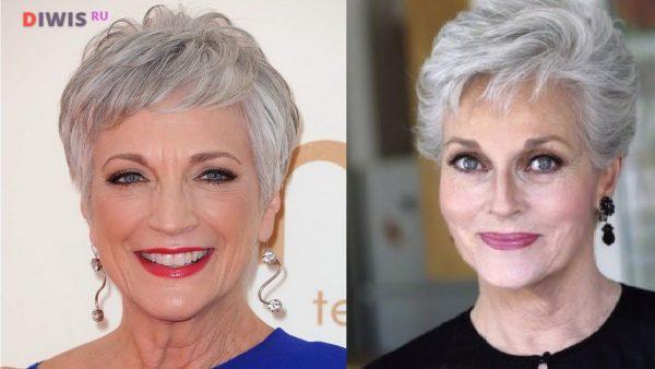 Красивые стрижки на короткие волосы в 2020 году после 60 лет