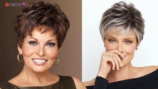 Красивые стрижки на короткие волосы в 2020 году после 50 лет