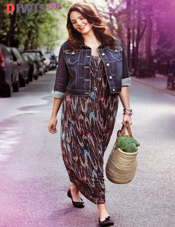 Мода для полных женщин за 40 в 2020 году весна-лето