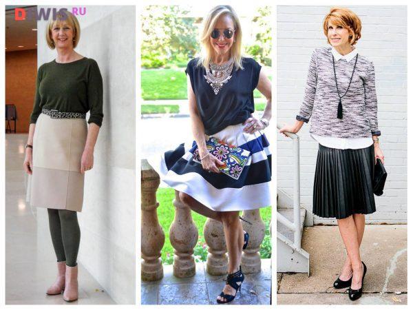 Мода для полных женщин за 60 лет в 2020 году на весну-лето