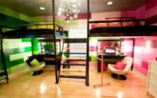 Интерьер детской комнаты для двоих разнополых детей
