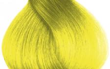 Солнечный желтый цвет волос